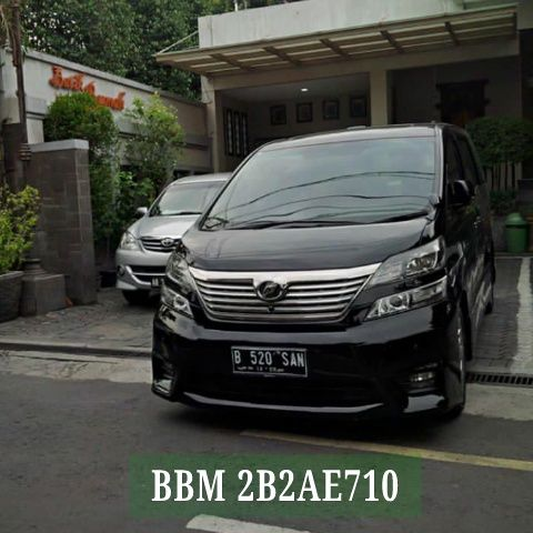 Sewa Alphard Solo ( Mobil, Driver + Bahan Bakar ) mulai 1,3 juta / day - BBM Pin 2B2AE710