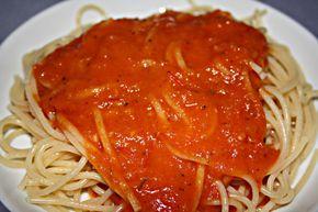 Tomatensauce aus frischen Tomaten