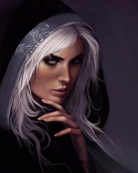 Rory The Sorceress ~ by Varich Sidhe