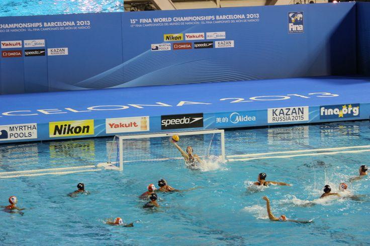 España - Waterpolo Femenino - Cuartos - Esp-USA - Foto Anesmar