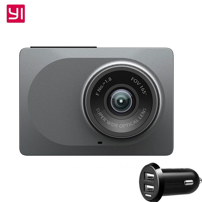 165' Wide Angle Dash Cam 16:9 H.264 Dual-Core Camera for Android & IOS