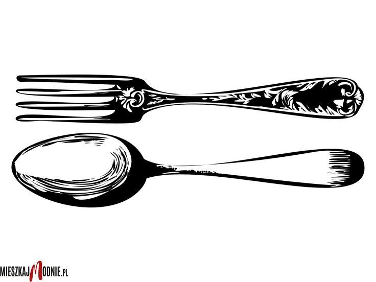 Naklejka lub  Szablon Malarski z serii do Kuchni - W10141