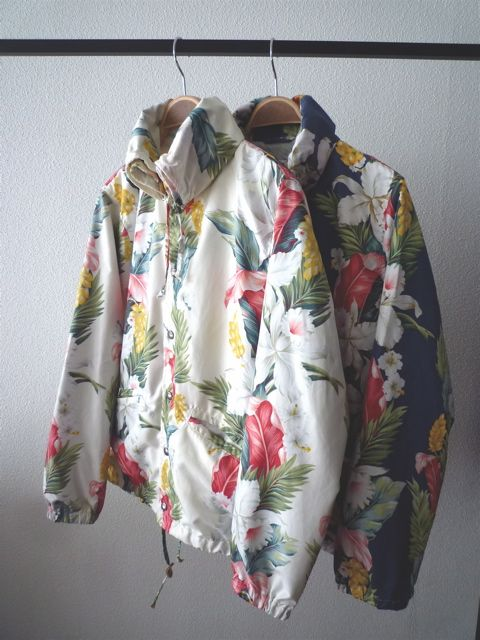 floral/tropical/outerwear