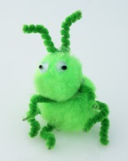 Grasshopper Pompom Craft for Kids