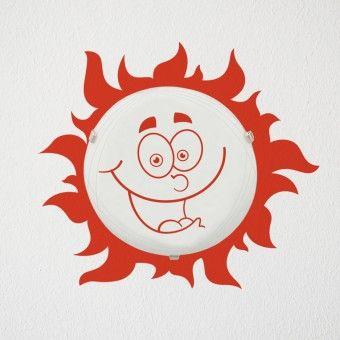 Plafoniera - Bucurie : Corpuri de iluminat - http://stickere.net/stickere-creative/Corpuri-de-iluminat/plafoniera-bucurie