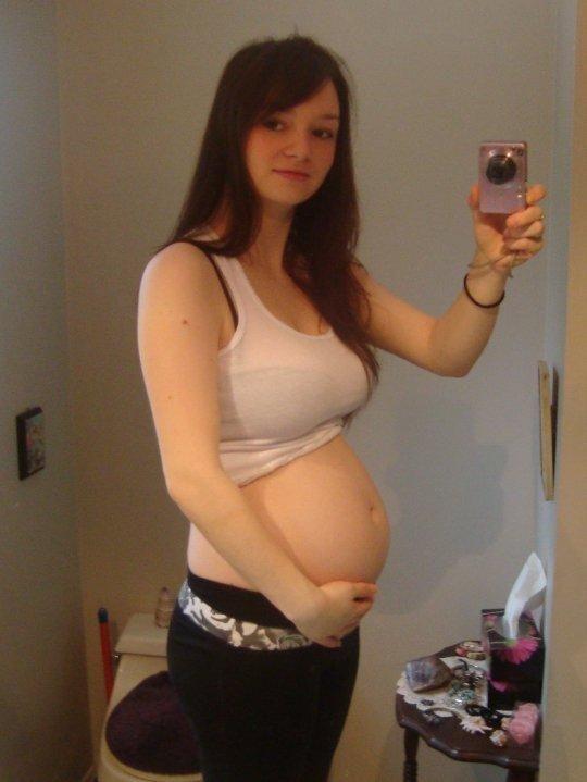 Knocked Up Teens  Pregnancies  Crop Tops, Tops Y Sexy Teens-2626