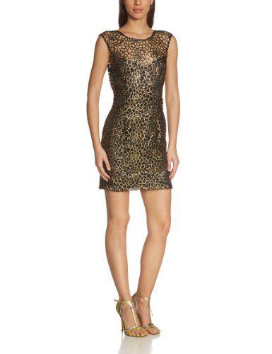 Für Valentinstag! Lipsy Damen Cocktail Kleid GOLD BLK LACE SHIFT (vorne) Von Lipsy Preis:EUR 49,28 - EUR 92,57 Shopping auf www.ademia.eu