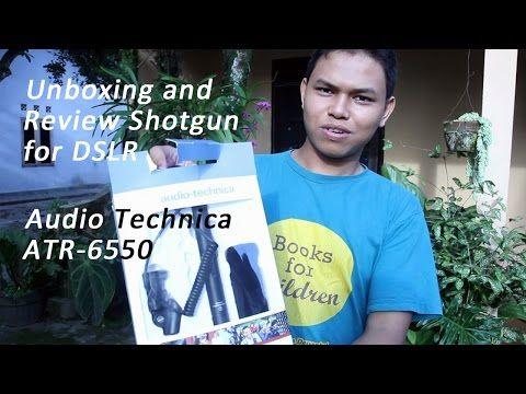 [Review] Audio Test Shotgun Mic Audio-Technica ATR 6550 - Beken.id