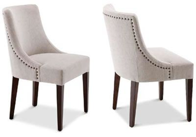 hilton armless chair - head dining chairs only