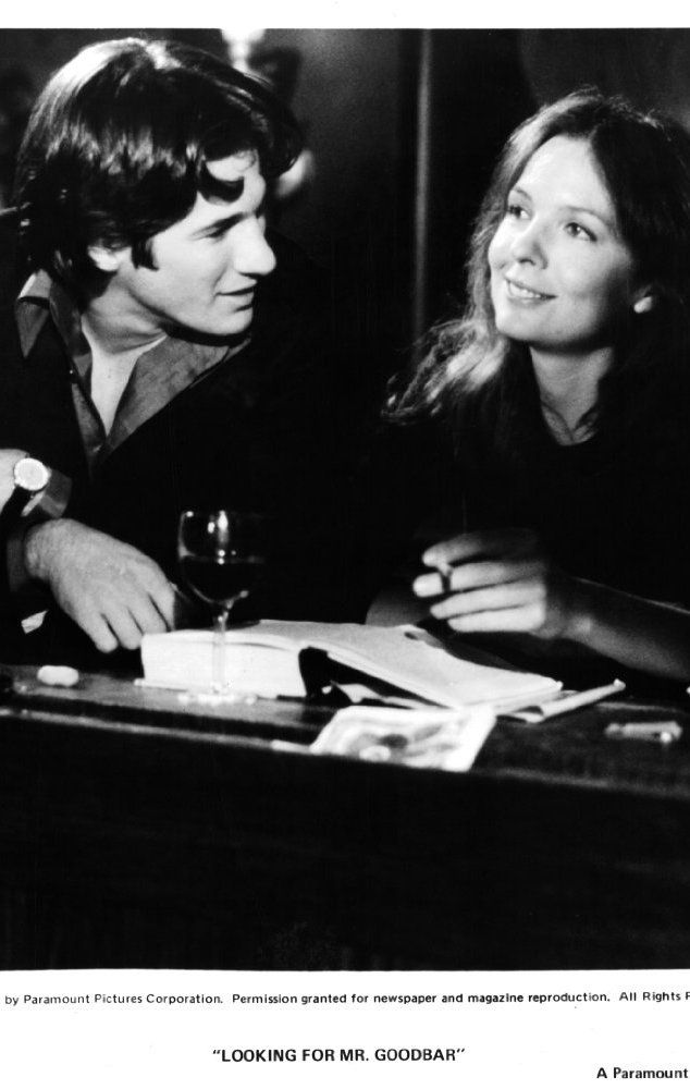 Richard Gere and Diane Keaton in Looking for Mr. Goodbar (1977)