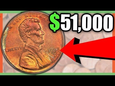 $138,000 RARE PENNY COINS TO LOOK FOR - RARE ERROR PENNIES