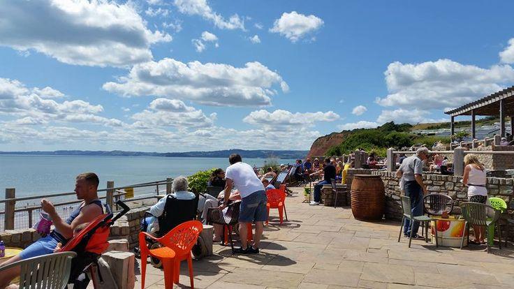 South Beach Cafe, Devon Cliffs, Exmouth, Devon. Photo by Amanda Jarvis