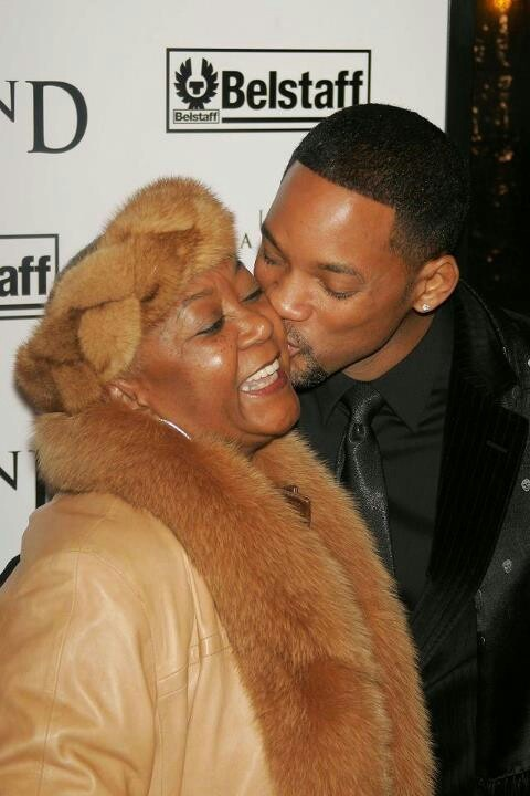 Will Smith & Mom, will mom is georgeous lady too