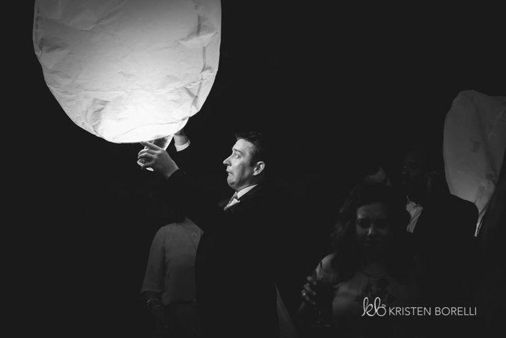 Paper Lantern Release  | Kristen Borelli Photography | Vancouver Island Weddings | Patterson Kaye Lodge Wedding Photography | Cottage Weddings