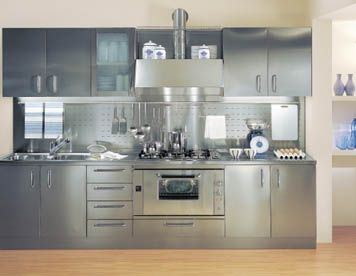 Beautiful Cucine In Acciaio Per Casa Gallery - harrop.us - harrop.us