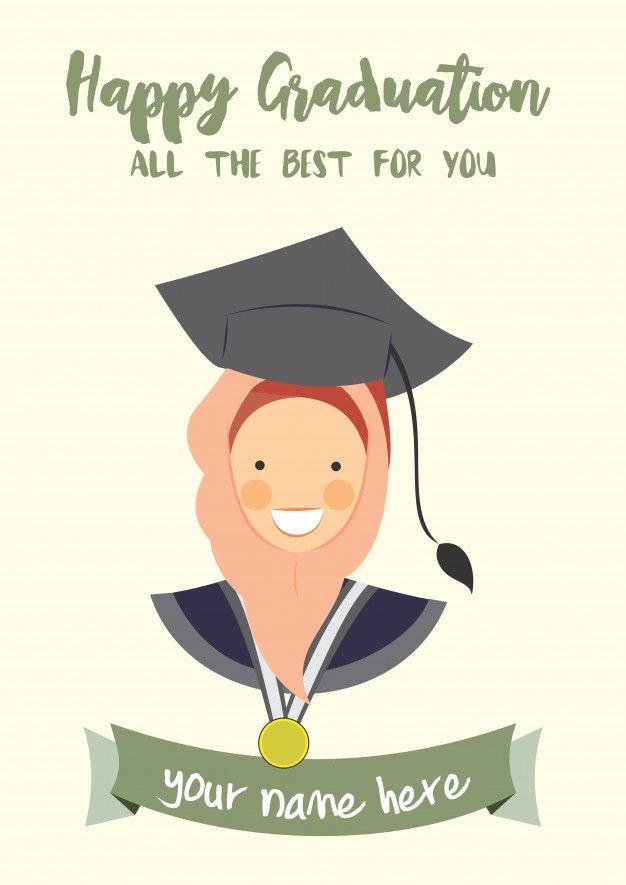 Happy Graduation Congratulation Template Card Congratulations Graduate Graduation Card Templates Happy Graduation