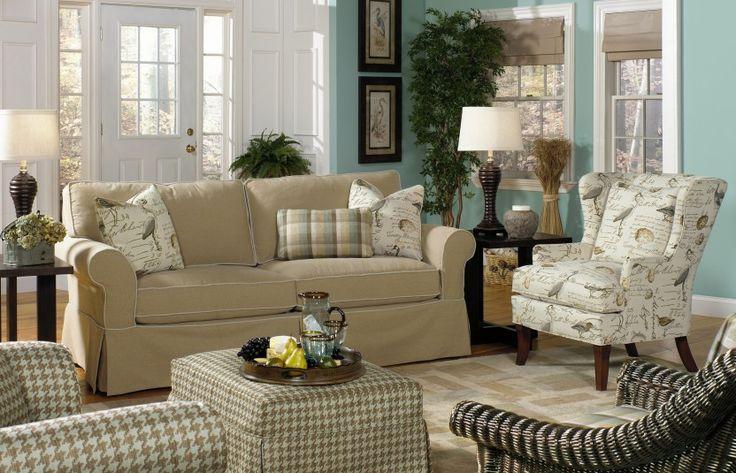 Superior Paula Deen Furniture Outlet | Paula Deen Khaki Sofa Group