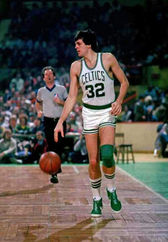 Kevin E. McHale  Enshrined 1999 Hibbing, MN  Born: December 19, 1957  Biography  At 6-foot-10 and 225 pounds, Kevin McHale's nearly unstoppable array of low post moves, some of which he never did twice in the same game revolutionized pivot play. With the Boston Celtics he teamed with Hall of Famers Larry Bird and Robert Parish to form one of the greatest front lines in basketball history. Although known for his happy-go-lucky attitude off the court at game time his playing was precise....