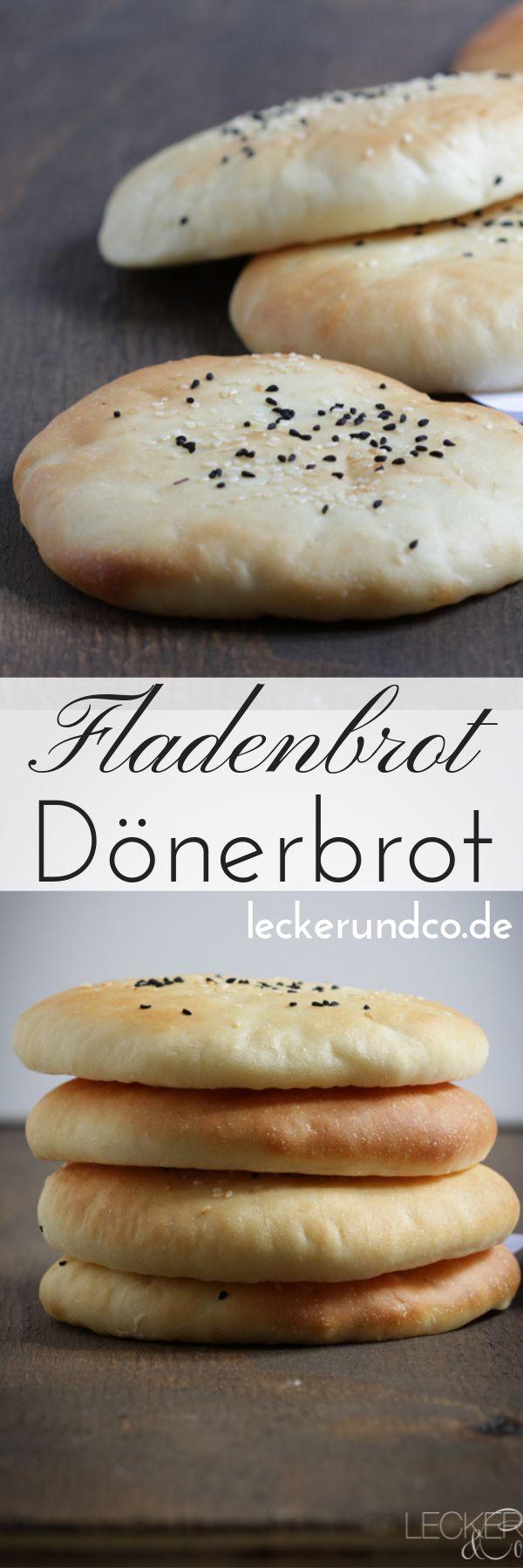Döner Fladenbrot   – Brot und Brötchen Rezepte