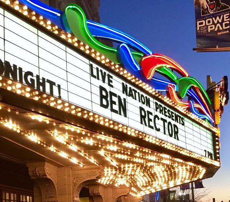 Ben Rector @ Minneapolis State Theater