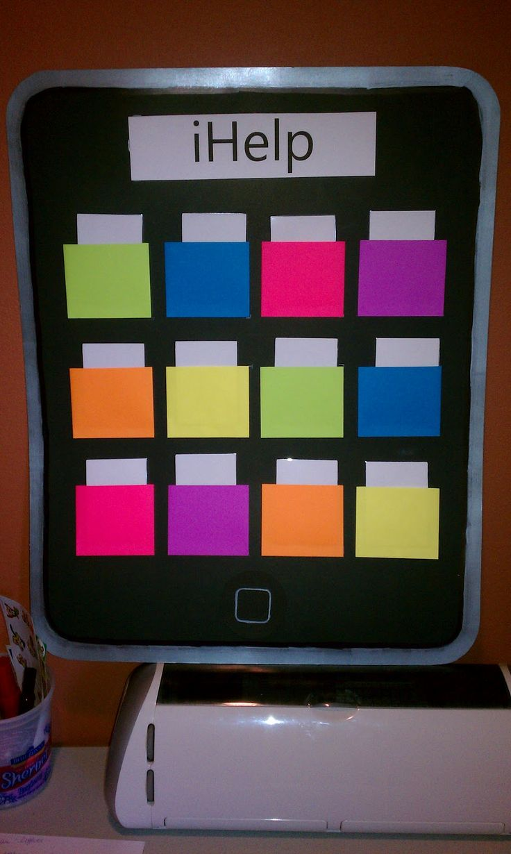 Cute iphone job chart   Fifth Grade Fancy: Monday Made It & just 6 more!!!