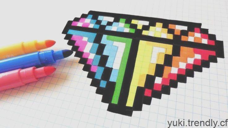 Handmade Pixel Art Comment Dessiner Un Diamant Arc En Ciel Pixelart Youtube Diamo Pixel Art Amigurumi Tutorial Handmade Crochet