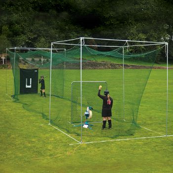 backyard batting cage my hubby is going to turn our backyard into