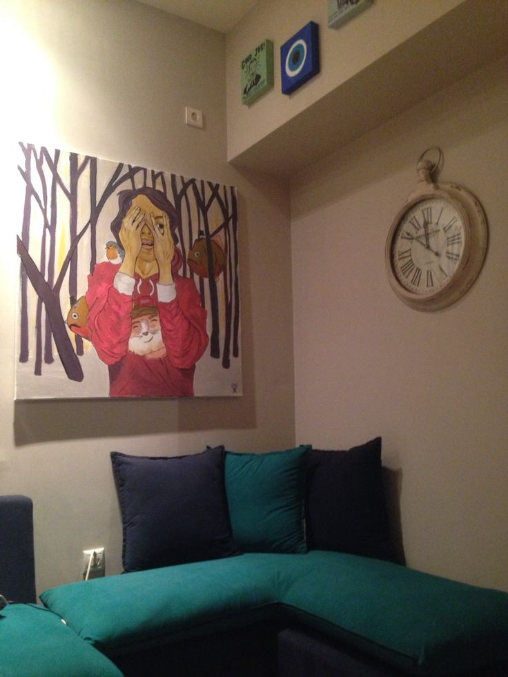 Artwork by Art.is living room decoration