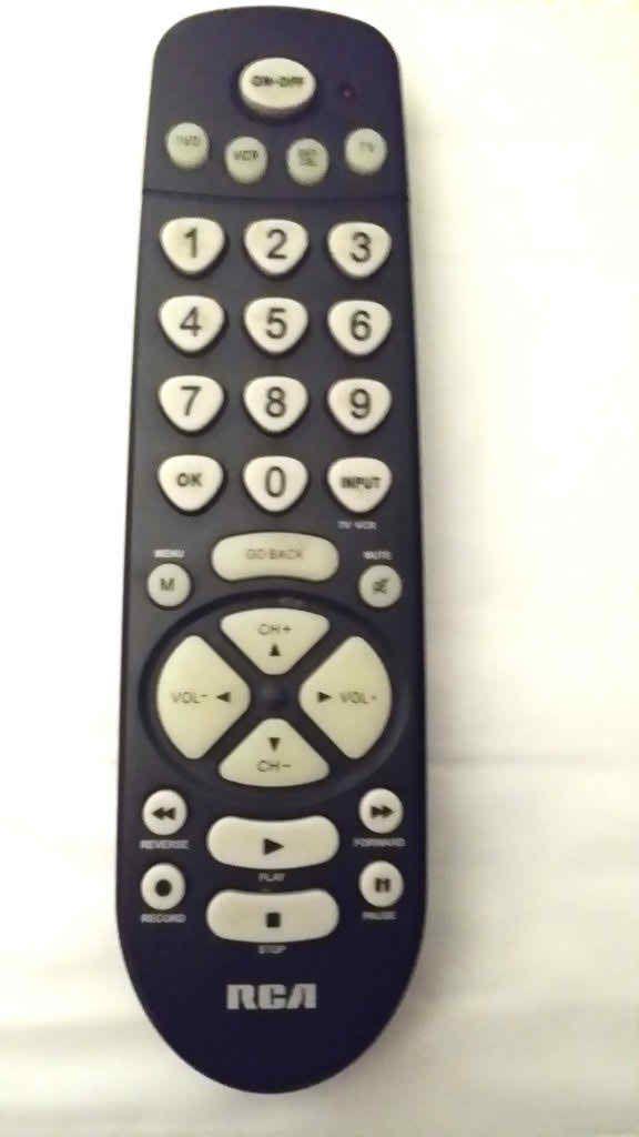 RCA 4 Device Universal Remote Control