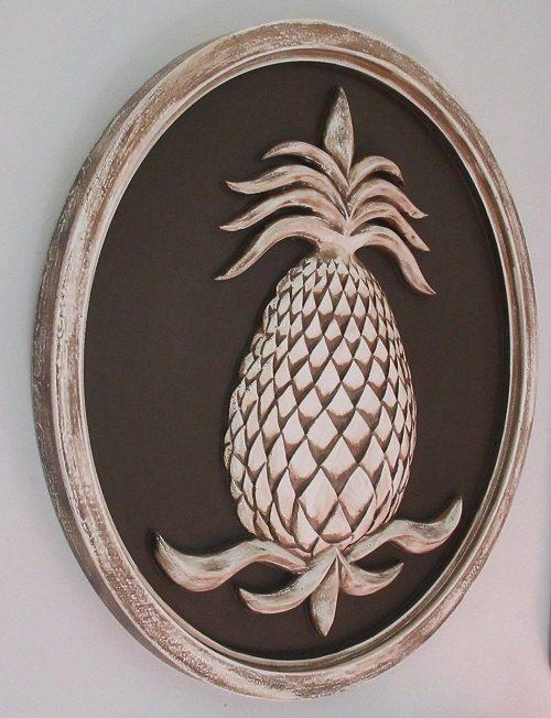 Pineapple Decor, Pineapple Welcome, Pineapple Plaque, Pineapple Wall  Plaque, Home Decor, Welcome Sign, Outdoor Decor - Pineapple Decor, Pineapple Welcome, Pineapple Plaque, Pineapple Wall