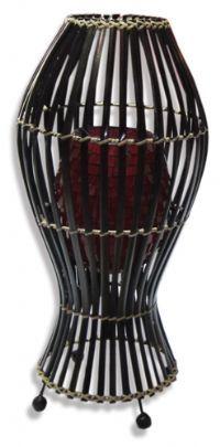 Balinese bamboo & mosaic table lamp 85