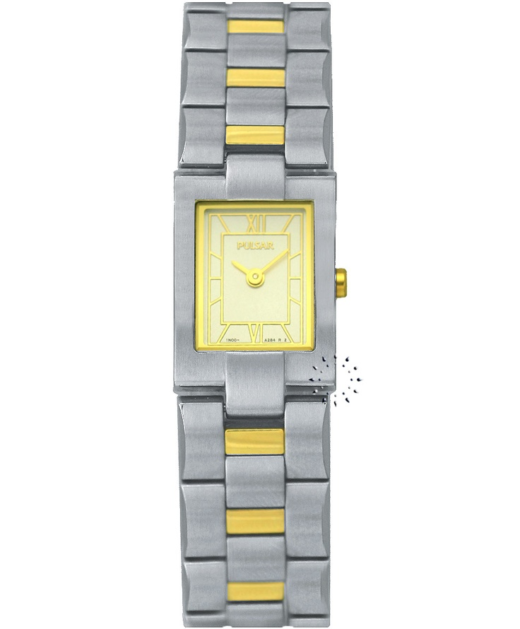 PULSAR Two Tone Stainless Steel Bracelet Τιμή: 245€ Τιμή Προσφοράς: 49€ http://www.oroloi.gr/product_info.php?products_id=33804