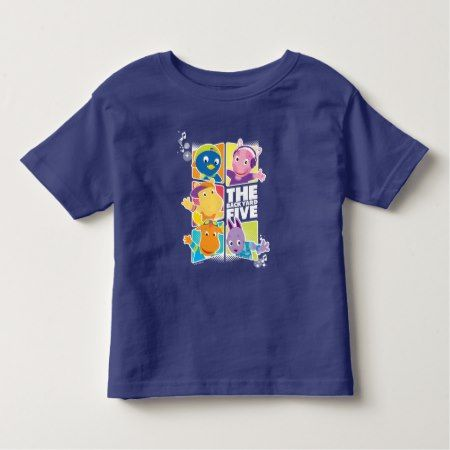The Backyardigans | The Backyard Five Toddler T-shirt - tap, personalize, buy right now!