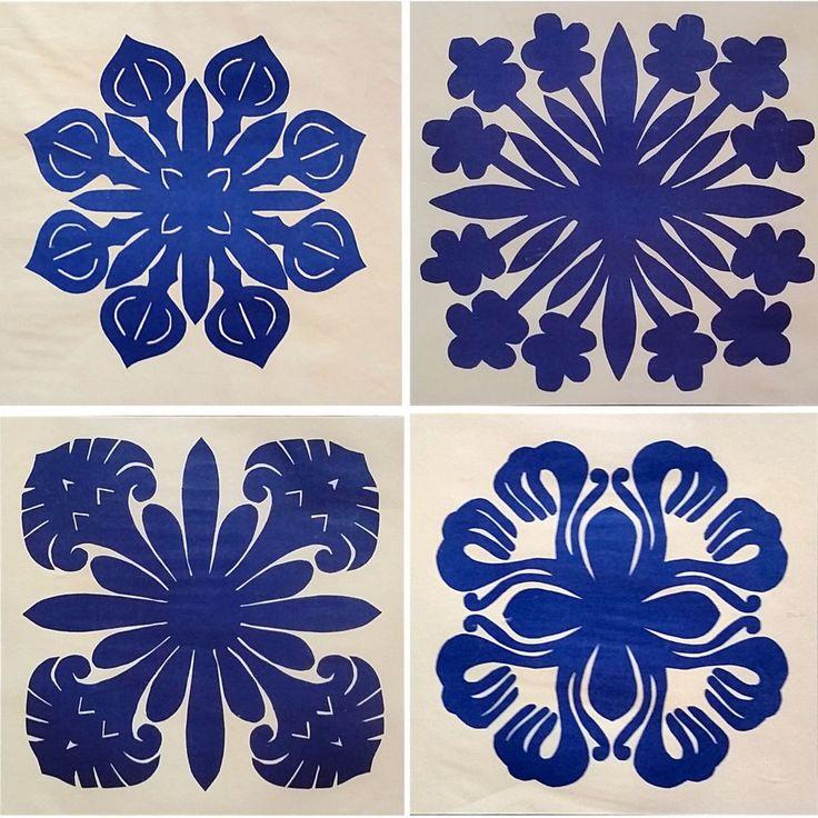 Hawaiian Pillow Patterns Quilting Flowers Ginger Plumeria Mokihana Naupaka c1088 #EAofHawaii