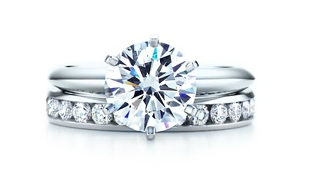 engagement ring and wedding band. Perfection! Haha someday...