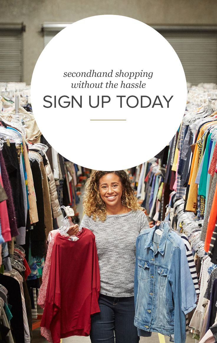 Shopping secondhand has never been easier. Browse thousands of like-new arrivals (even items that are new with tags!) from the palm of your hand. Find what you're looking for fast by saving your sizes and favorite brands. You only have to do it once, and we'll save your settings for future searches. Thrift at thredUP—no salespeople, no judgment, no hassle, and no guilt! Sign up today for exclusive access.