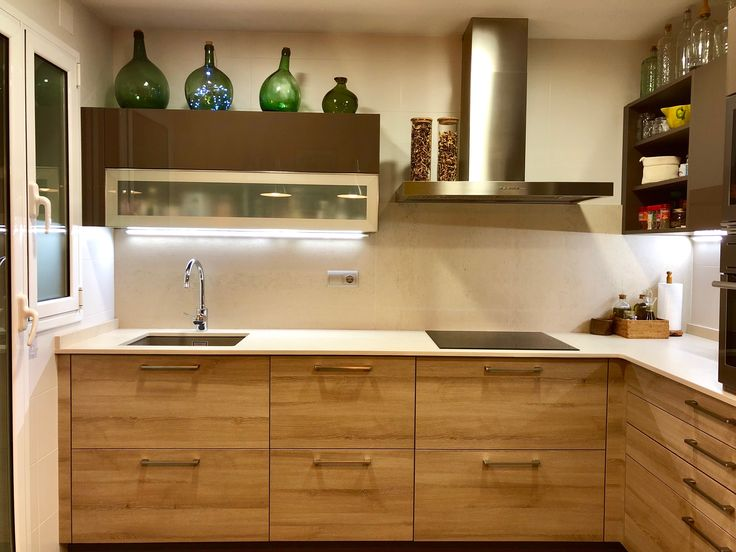 Open kitchen ideas in Barcelona. Pep's Home.