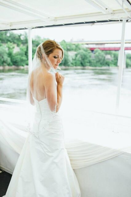 #Bride#weddingsonthewater#ParadiseCharterCruises#minneapolisqueen#theparadiselady#letscruisemn#lakeminnetonka#letscruisemn#twincitiescruises#weddingreception#brideandgroom#themississippi#summer#flowers#weddingphotography#weddingdress#water