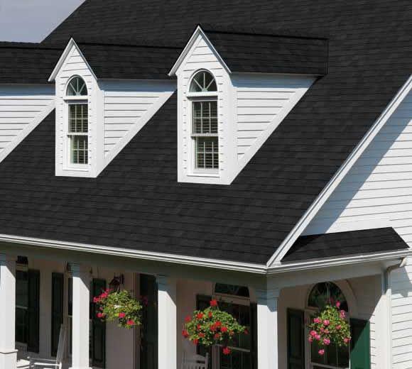 Best Trudefinition® Duration® Shingles Onyx Black House 640 x 480