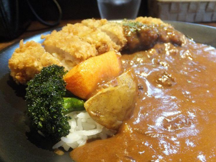 エイトカリー(E-itou Curry)【札幌中の島】◆絶品♪胃にもたれないカツカレー!