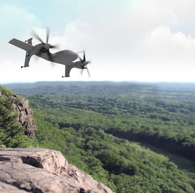 """Sikorsky is one step closer to bringing its """"unmanned rotor blown wing concept"""" aircraft - From Flight International"""