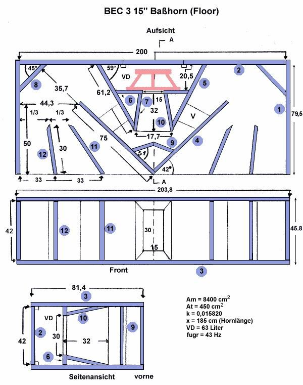 Subwoofer Box Building Plans - WoodWorking Projects & Plans