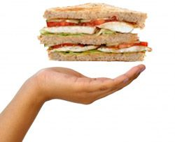 Calculateur de calories pour sandwich et hamburger - Calculez vos kilocalories