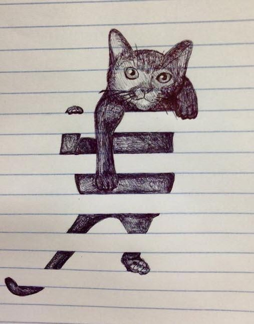 What a clever little sketch. I love it.