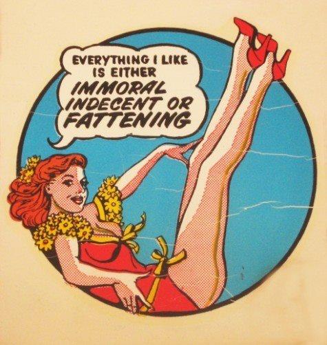 TrueWeb Design, Vintage Illustration, True Words, So True, Funny Stuff, A Tattoo, Pin Up, True Stories, Painting Lady