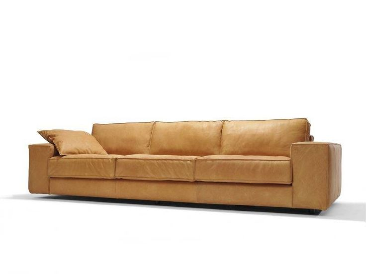 Bankstel vintage, leather couch, vintage