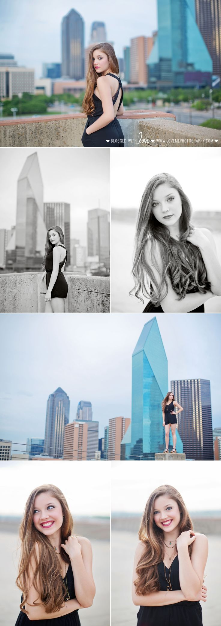 Flashback Friday: Aubrey's senior portrait session in Dallas   Booker T Washington HS of the Visual and Performing Arts   Dallas skyline   copyright Love, Me Photography www.lovemephotography.com