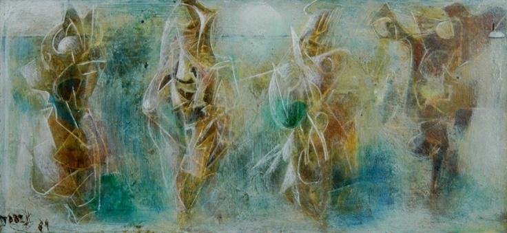 Pavane Nuptiale 1969 by Sir William Dobell