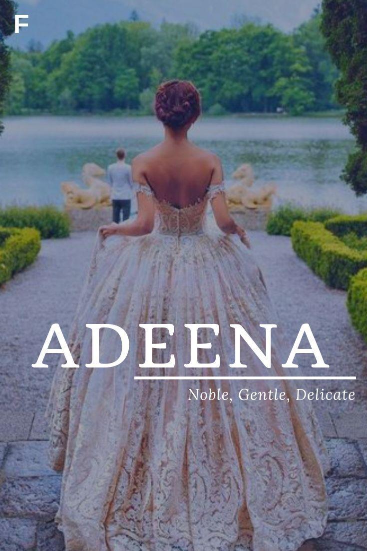 Adeena meaning Noble Gentle Delicate Hebrew names …
