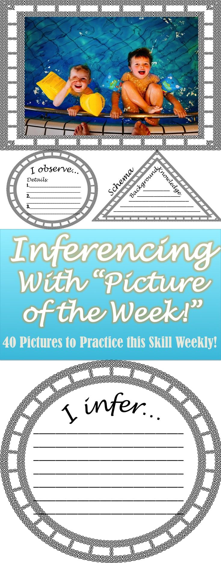 Inferencing with Pictures- Full Year! Print and Go